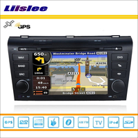 Liislee Автомобиль Радио Стерео DVD плеер gps навигатор для Mazda Axela 2003 ~ 2009 IPOD, USB Bluetooth HD Экран мультимедиа Системы