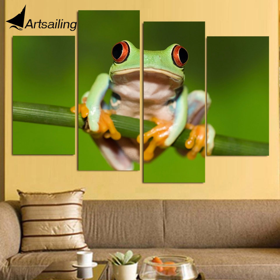 Beautiful Frog Wall Art Motif - Art & Wall Decor - hecatalog.info