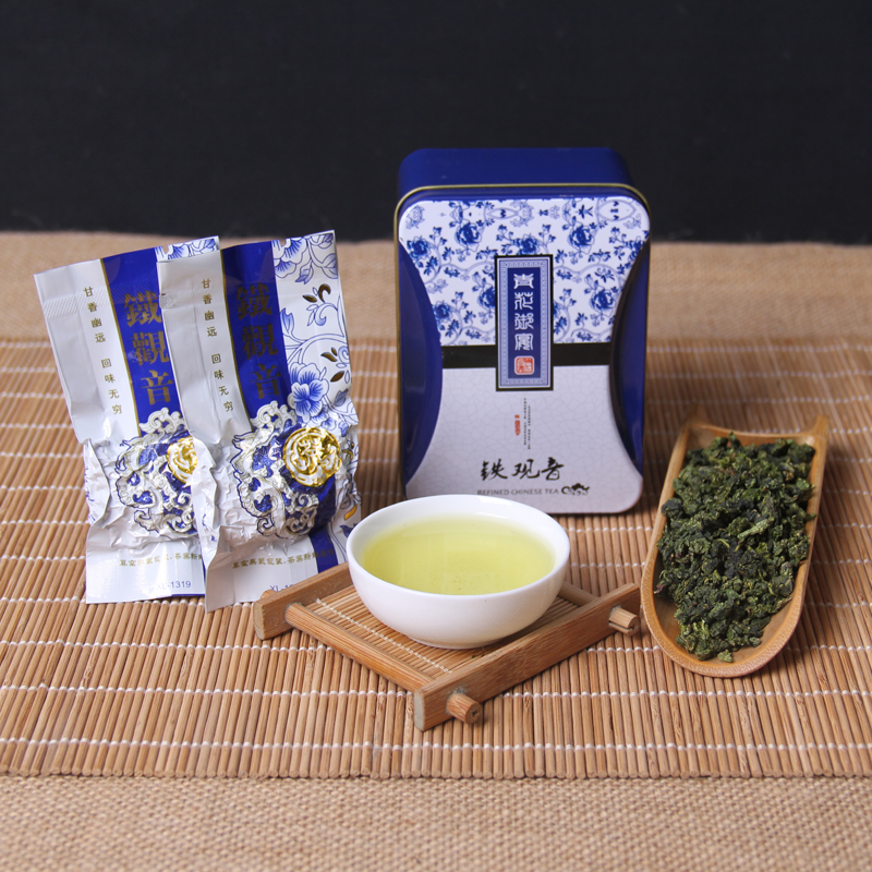 2019 Hot Sale TieGuanYin Superior Oolong Tea 1275 Organic Green Tie Guan Yin Tea To Loose Weight China Green Food Gift Package