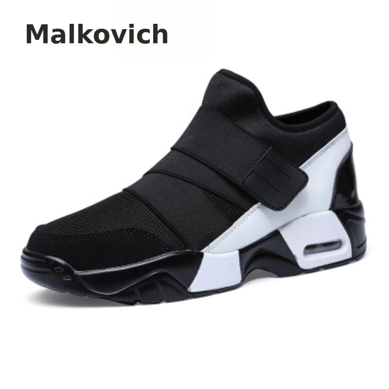 Malkovich 2018 new Men Casual Shoes Air Breathable Fashion Krasovki boty calcados obuv Tenisky Flats Height Increasing shoes men