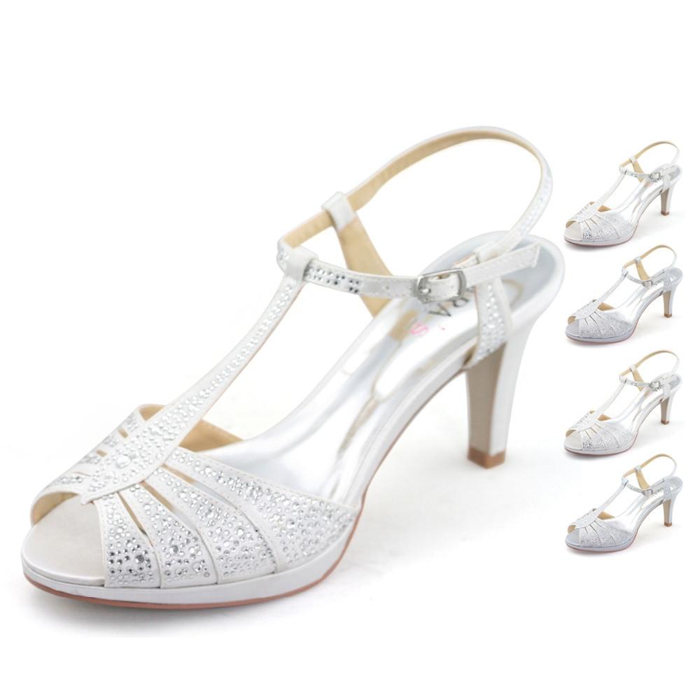 Satin Bow Wedding Shoes