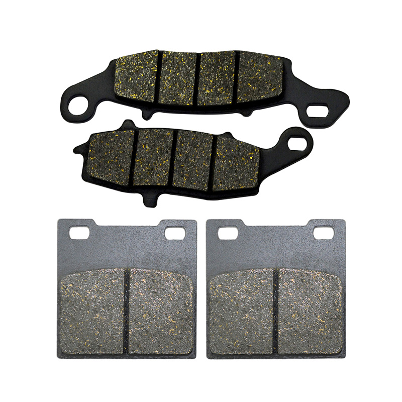 Motorcycle Front And Rear Brake Pads For SUZUKI GS 500 GS500 1996-2010