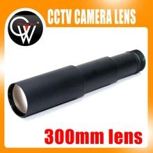New 1/2 300mm lens M12*0.5 CCTV MTV Board IR Lens for Security CCTV Video Cameras