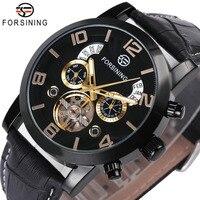 FORSINING Wrist Watch Men 2018 Top Brand Luxury Male Famous Clock Automatic Mechanical Watches Calendar Date