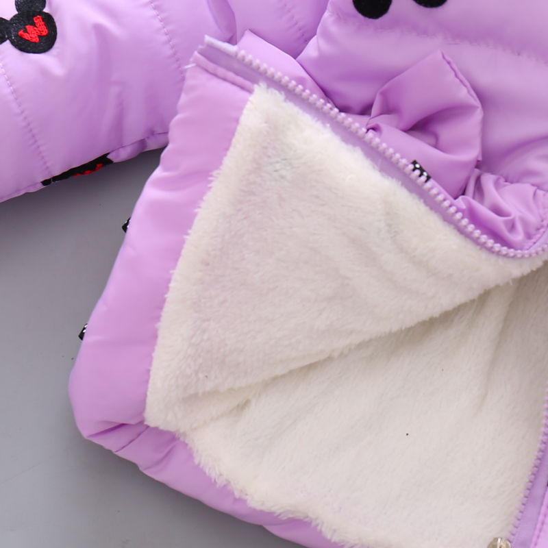 LZH Baby Girls Jacket 19 Autumn Winter Jacket For Girls Coat Kids Warm Hooded Outerwear Coat For Girls Clothes Children Jacket 17