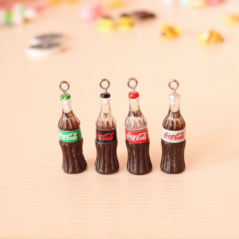 Cola Bottle With Hook Charms For Slime DIY Polymer Filler Addition Slime Accessories Toys Lizun Modeling Clay Kit For Children