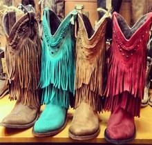 Sheepskin cowboy boots online shopping-the world largest sheepskin
