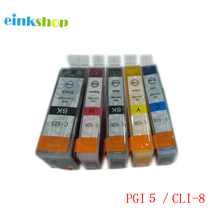 5Pcs BCI-3e BCI-3 BCI-6 Ink Cartridges Full Ink For Canon IP4000 IP5000 I860 MP870 MP710 MP780 MP760 MP750 BJC 3000 6000 6200 new qy6 0049 printhead for pixus 860i 865r i860 i865 ip4000 ip4100 ip4100r mp770 mp790 mp750 mp760 mp780 printer