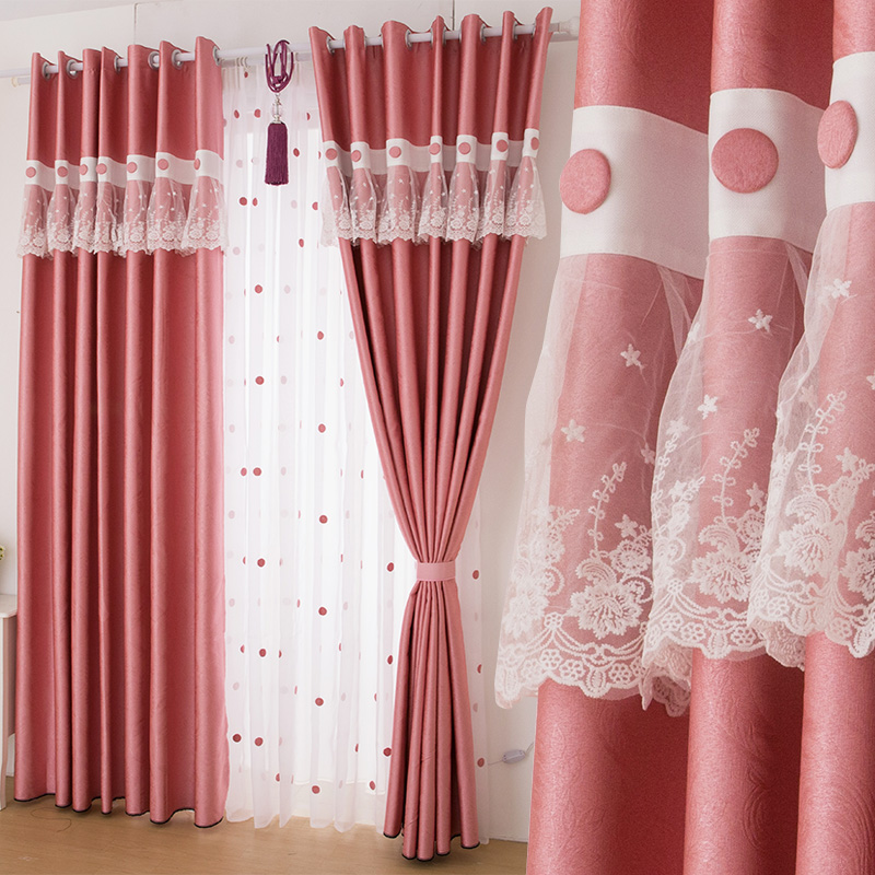 pink lace curtains. Popular Pink Lace Curtains Buy Cheap Pink Lace Curtains lots from