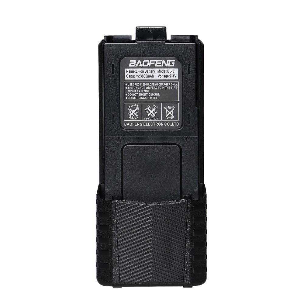 Baofeng 7,4 V 3800 mah UV-5R Batterie Für Walkie Talkie Radio Teile Original 3800 mah UV 5R UV-5RE baofeng Zubehör Radio
