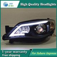 Auto Clud Style LED Head Lamp For Subaru Impreza WRX STI Led Headlights Signal Led Drl