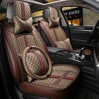 Роскошное автокресло крышки протектор универсальный авто подушка для ssangyong Ssang Yong Actyon korando kyron rexton аксессуары
