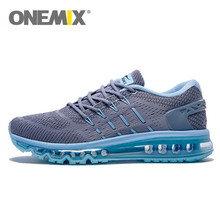 2017 onemix Men Unique Shoe Tongue Running Shoes Breathable Air mesh Sport Trainers Female Athletic Outdoor Sneakers