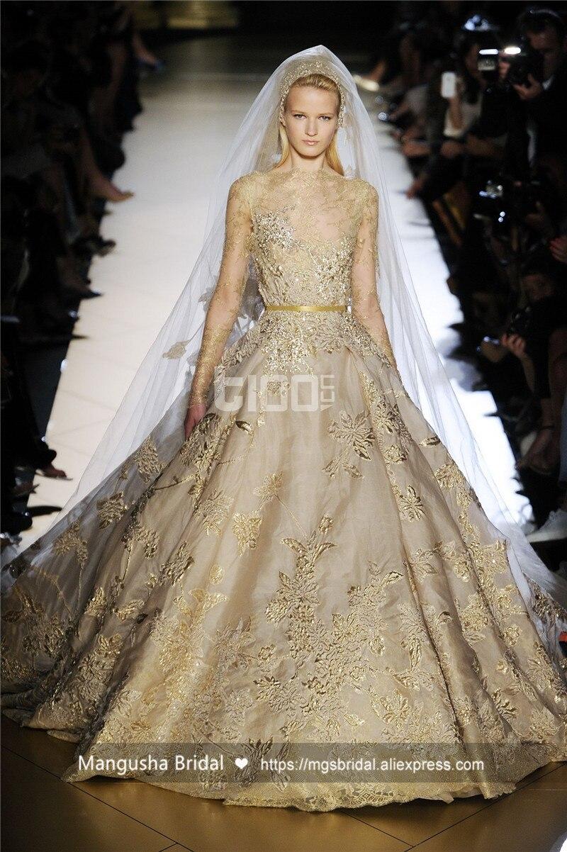 Online buy wholesale elie saab wedding dresses from china for Elie saab wedding dress for sale