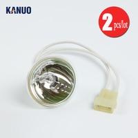Lâmpada halógena I061229 (JCD 15 V 150 W) para Noritsu QSS3000/3001/3011/3021 minilabs (2 pçs/lote)