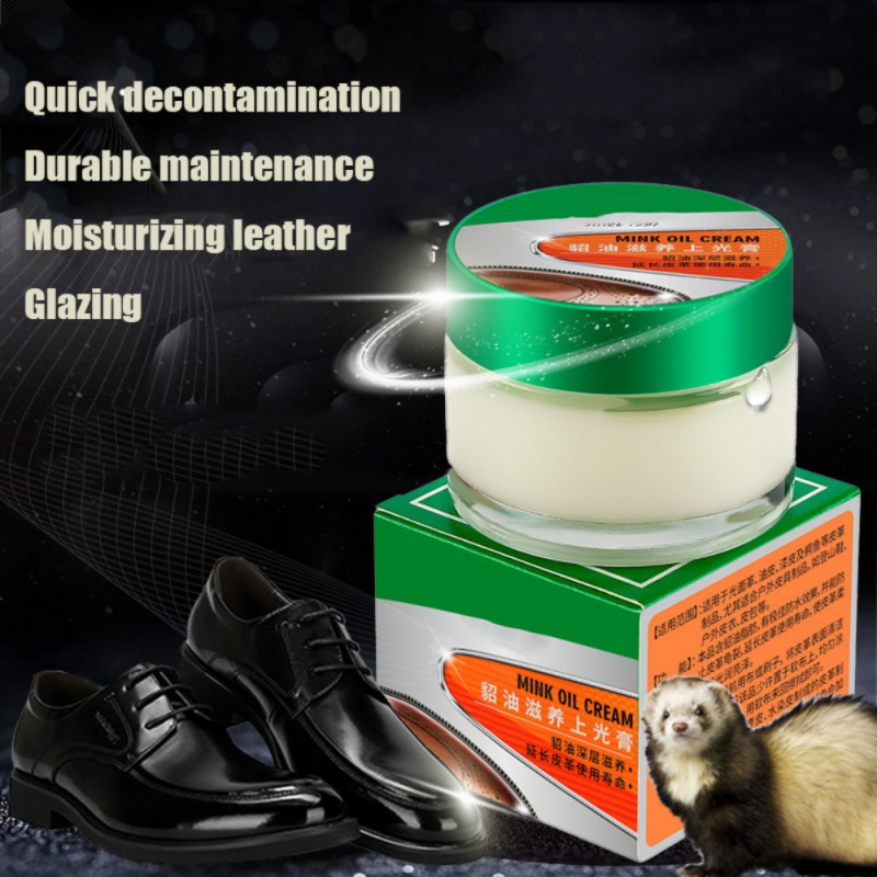 50ML Mink Oil Gel New Brand And Quality Colorless Universal Leather Can Renew The Original Luster Prolong Service Life