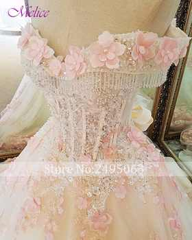 Fmogl Elegant Sweetheart Neck Beaded Sequined Ball Gown Quinceanera Dress 2020 Appliques Debutante Dress For Vestido de 15 anos