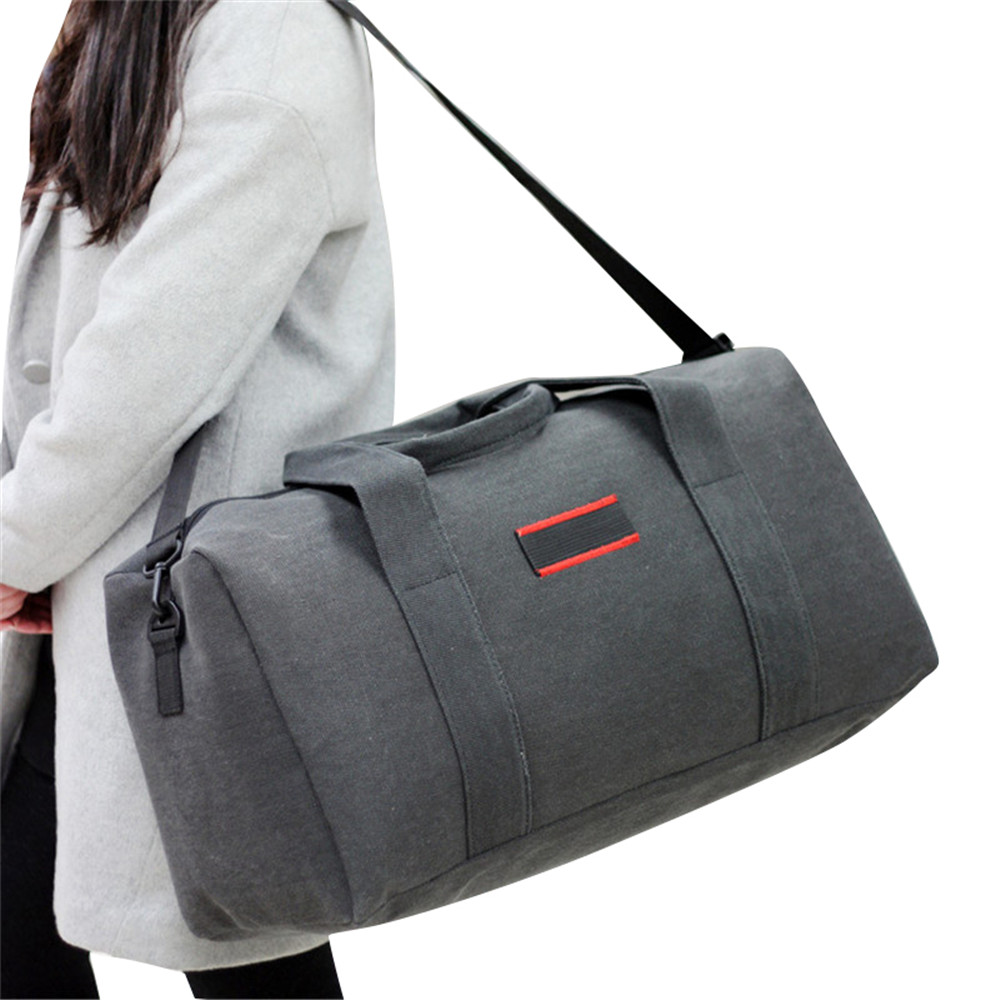 03f4db505598 2019 холщовая дорожная сумка выходные сумки большой емкости Ночная сумка на  плечо мужские непромокаемые сумки-мессенджеры женские дорожные .
