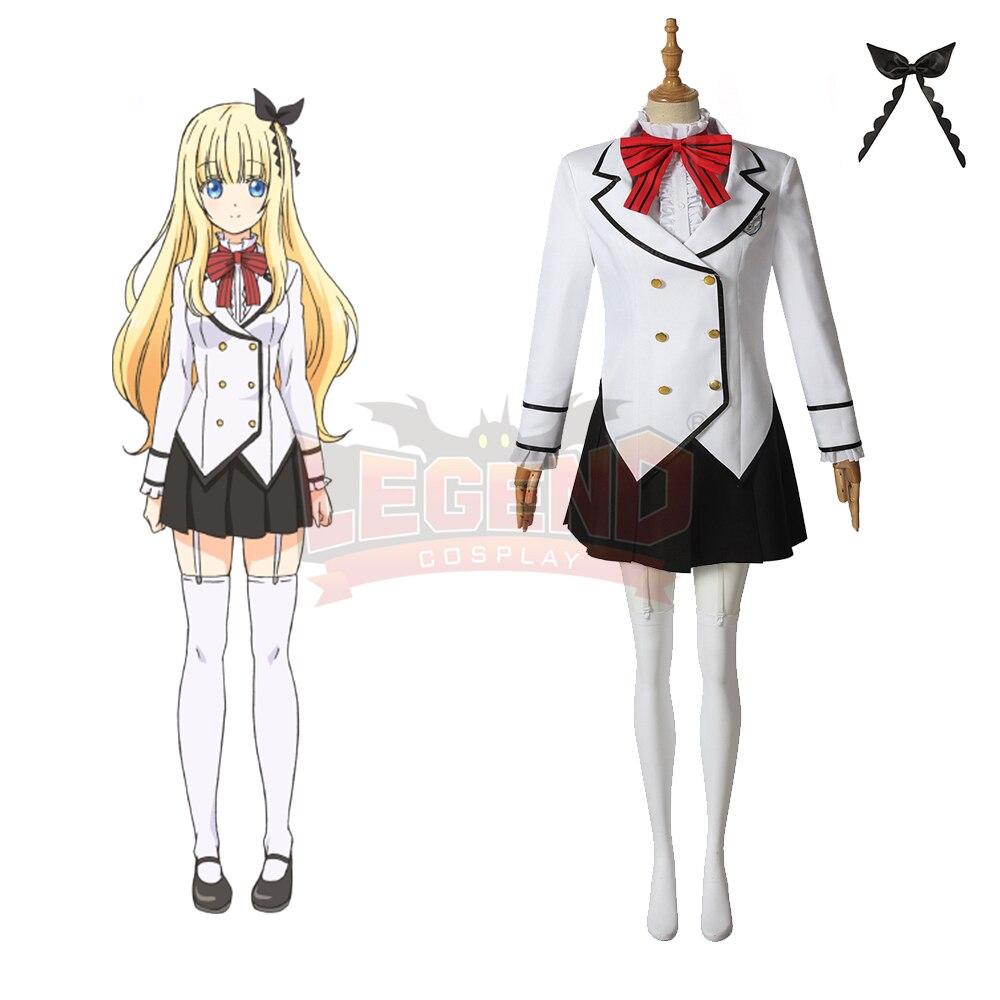 Cosplaylegend Anime Juliet of Boarding School Juliet Persia Cosplay costume adult halloween costume custom made school uniform