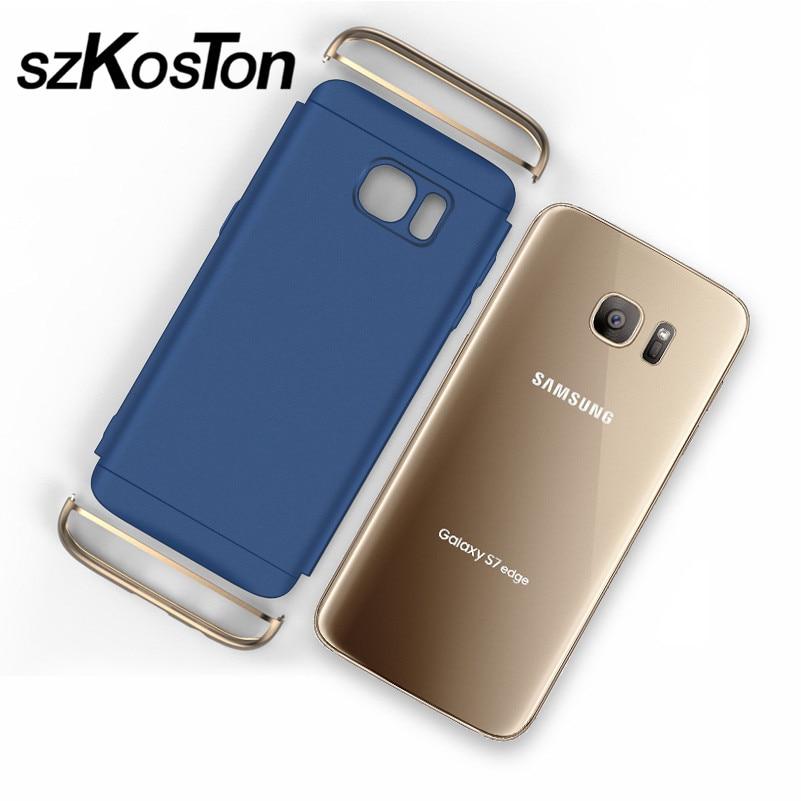 Lyx för Samsung S7 fodral Samsung Galaxy S7 Edge fodral hårt - Reservdelar och tillbehör för mobiltelefoner - Foto 3