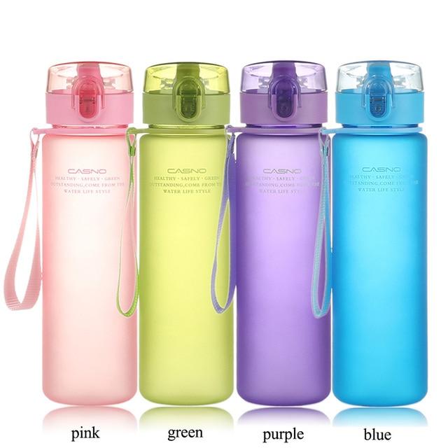 CURGE Flip Top Lid Direct Drinking Plastic water bottle 400ml 560ml #1107 3