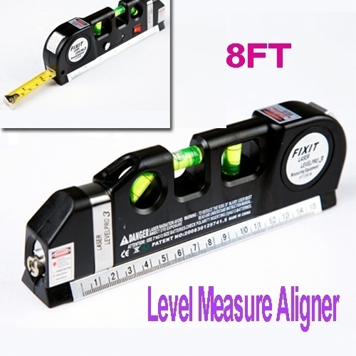 Precise Optical Instruments Aligner Multipurpose Laser Level Horizon Vertical Measure Tape Aligner Brand Laser Machine BS elecall em5416 200 high quality multipurpose level with bubble laser horizon vertical measure tape the horizontal ruler