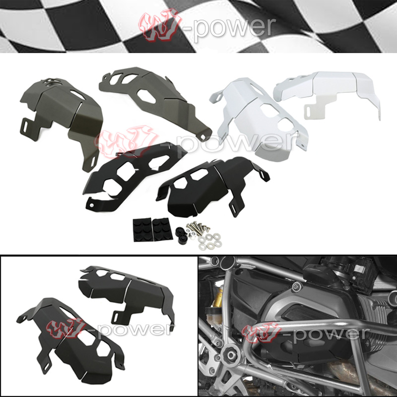 For BMW R1200GS Cylinder Head Guards Protector Cover for BMW R 1200 GS Adventure 2014 2015 2017 after market цена