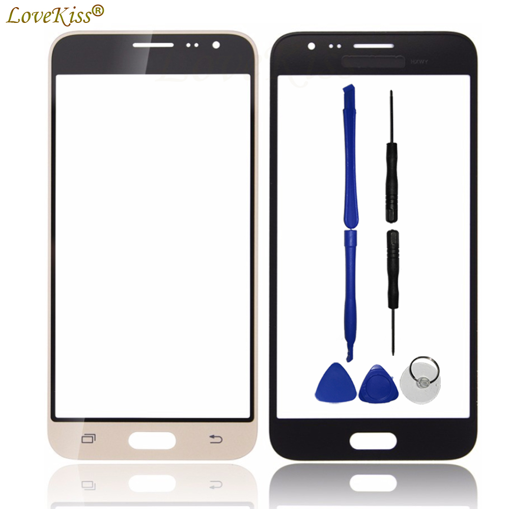 J320 Front Panel For Samsung Galaxy J3 2016 J320F J320A J320M Touch Screen Sensor LCD Display Digitizer Glass Cover Replacement