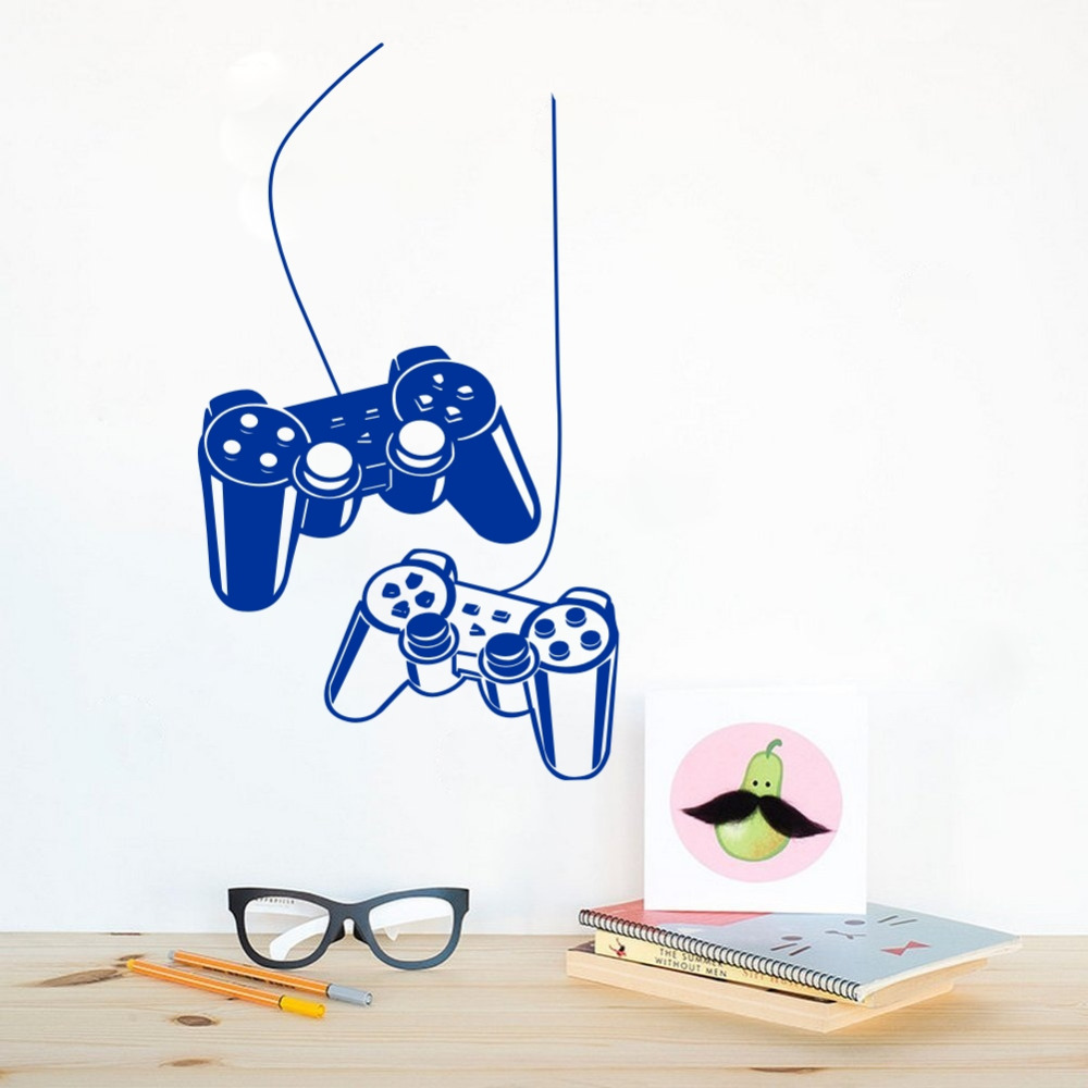 Gaming Gamer Vinyl Wall Decals Eat Sleep Play Game Art Decor Sticker - Decoración del hogar