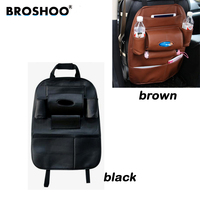 Multifunctional Seat Bag Automobile Storage Box Hanging Bag Leather Chair Storage Bag Car