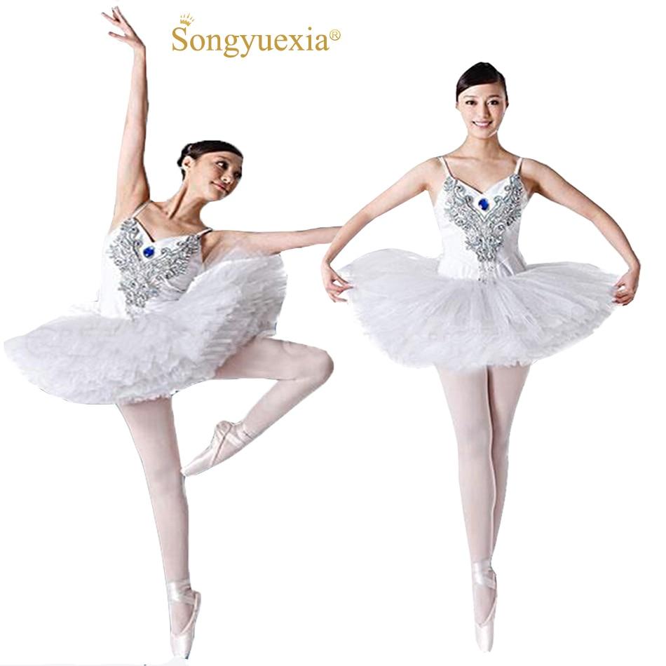 2017 Songyuexia Nuevo ballet adultos falda mullida vestido de Rendimiento traje  de la danza del ballet c4da0e869e2