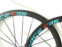 38mm 45mm ClincherTubular 700C 50mm 60mm Depth Bicycle Bike Wheelset Rims 20 24 18 21 Holes