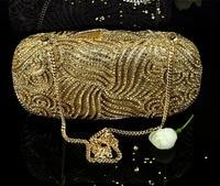 XIYUAN BRAND evening clutch bag women handbag beaded Lady Party Purse Wedding bride Diamond pearl Prom dinner bag banquet bags