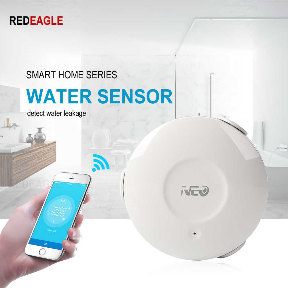 スマート家電 WiFi 水センサー洪水リーク検出器 App サポート iOS アンドロイド通知アラート