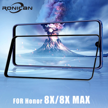 honor 8X max full cover tempered glass on huawei screen protector film 2.5D