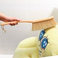 Sólido Longo Escova Poeira Remover Escova de Limpeza de Plástico Cama Escova Escova de Cerdas Macias Ferramentas de Limpeza de Casa Sofá Cama Folha de Cama Varredura escova