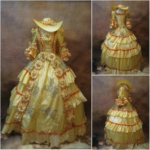 Kunde gebildete 19 Century Rote Viktorianischen Kleider 1860 s ...