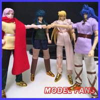 MODEL FANS 12 EX Gold Saint Seiya Cloth Myth Diy Mufti Gemini Leo Aquarius Virgo Pisces