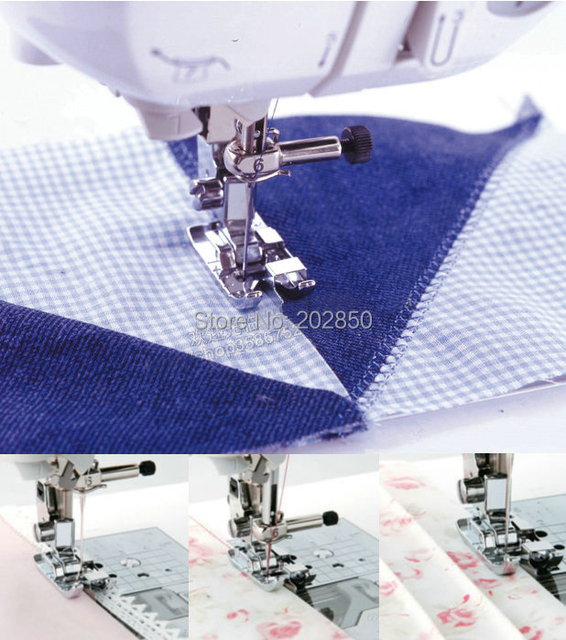 QuiltingPatchwork Presser FootEdge Joinning FootCY 40 Domestic Custom Singer Quilting Sewing Machine