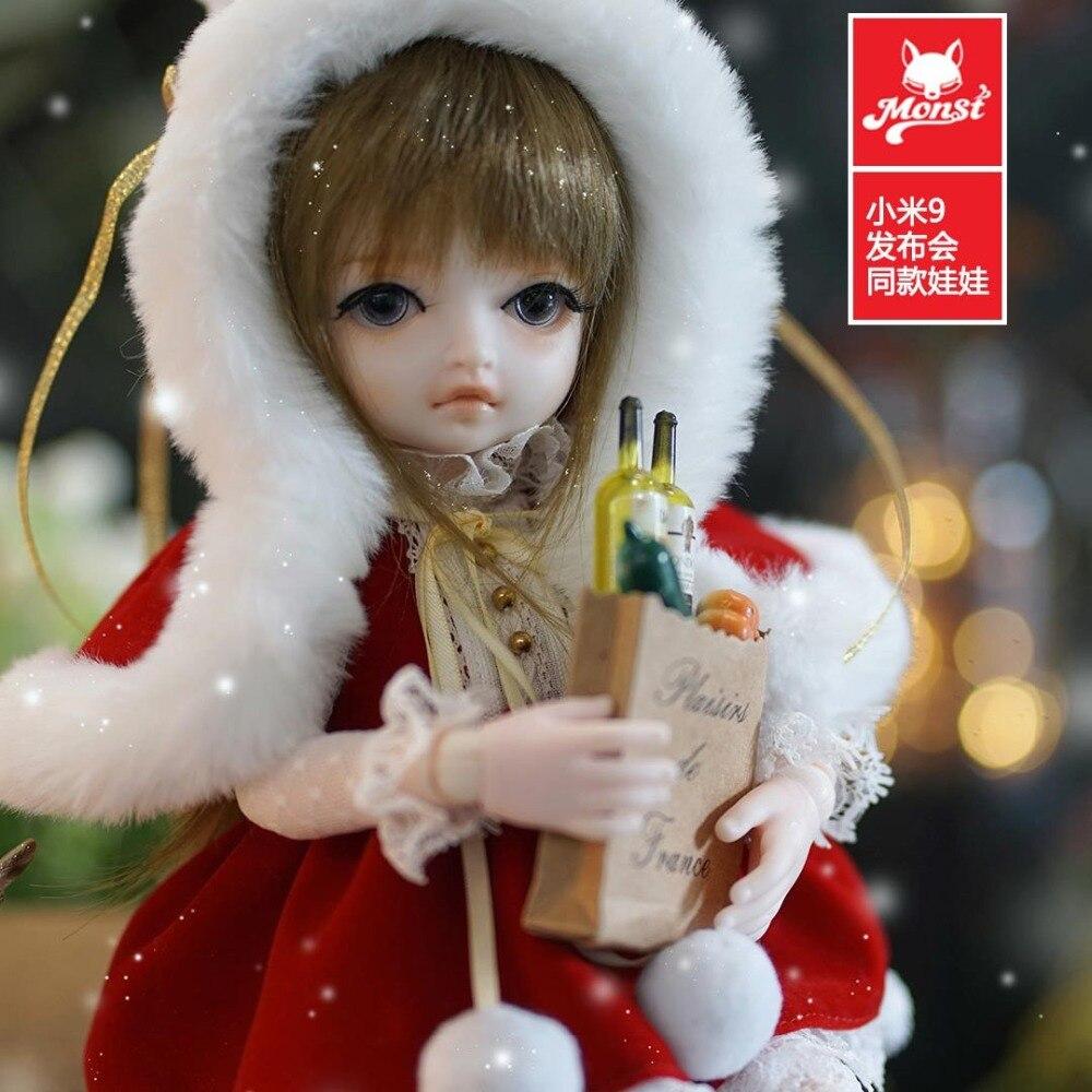 Original xiaomi mijia Monst BJD Joints poupée vacances cadeau stagiaire Lolita filles poupées réalistes Figure cadeau décor Collection - 5