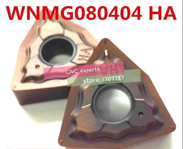 10pcs New WNMG080404-CF carbide insert CNC turning insert for machining steel