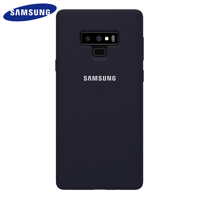Samsung Note9 Case Silicone 100% Original Back Cover Business Luxury Sport Cut Camera Protective Surface Waterproof N9600