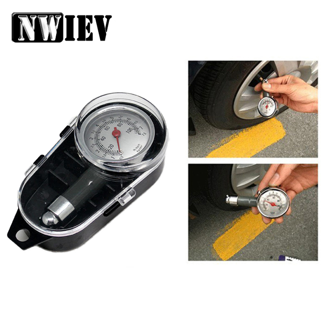 Charming NWIEV Car Styling Sticker Tire Pressure Table Detector Wheel For Mazda 6  CX 5 Honda