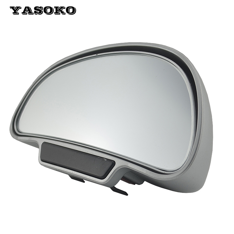 1piece High quality 360adjustable degree Wide Angle Side Rear Mirrors blind spot Snap way for parking Auxiliary rear view mirror