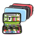 Portátil a prueba de agua EVA Auricular USB Flash Disco Duro Caso caja de Almacenamiento Digital Bolsas organizar pochette disque dur 2.5 GH1316
