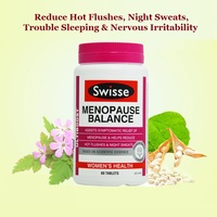 Australia Swisse Menopause Balance Women Health Reduce Hot flushes Night sweats Trouble sleeping Nervous irritability Symptoms