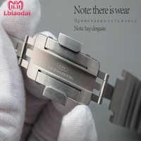 Original 1:1 Apple watch banda enlace pulsera reloj de Apple 5 4 44mm 40mm de metal de acero inoxidable Correa iWatch 3 21 42mm 38mm