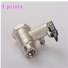 All copper  water heater air energy safety valve one-way check back pressure relief universal accessories