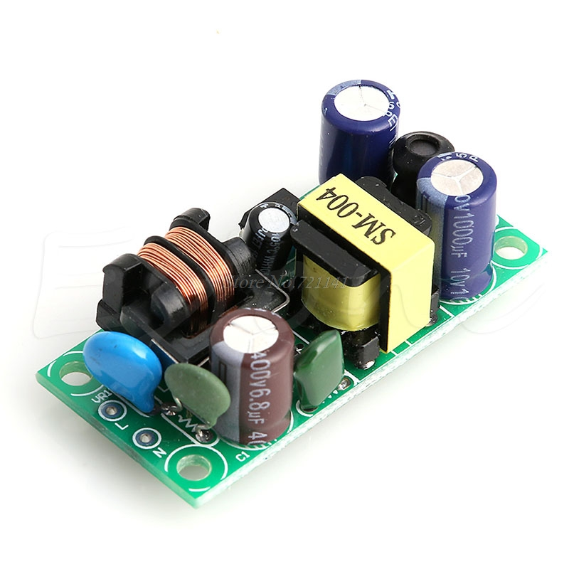 DC 5V 1A AC To DC Power Module Supply Buck Converter LED Bare Plate Isolation 5W