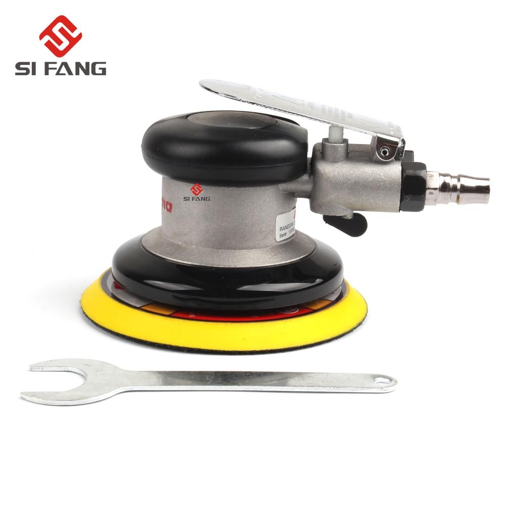 цена на Wholesale 125mm Air Sander Pneumatic Sander Polish Tool 5'' Air Sanding Machine Pneumatic Air Tools